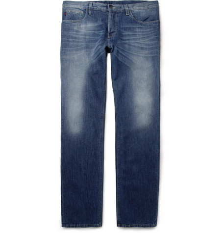 Gucci Regular-Fit Washed Denim Jeans