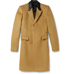 Burberry Prorsum Slim-Fit Bonded Cashmere-Blend Overcoat