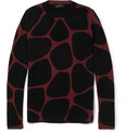 Burberry Prorsum - Giraffe-Patterned Wool-Blend Sweater