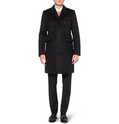 Burberry Prorsum Slim-Fit Alpaca-Blend Coat
