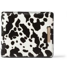 Burberry Prorsum Calf Hair Billfold Wallet