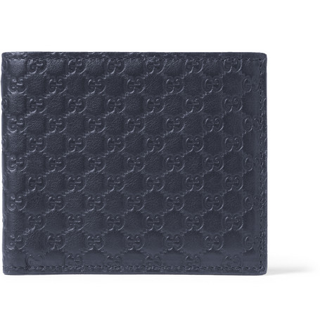 Gucci Guccissima Leather Billfold Wallet