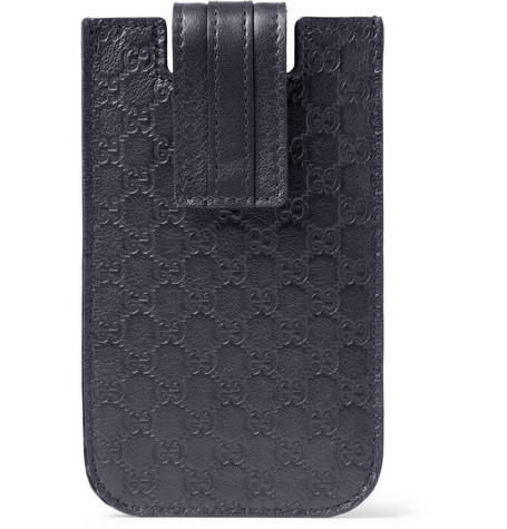 Gucci Embossed Leather iPhone 5 Cover