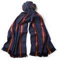 Gucci Striped Wool and Silk-Blend Scarf