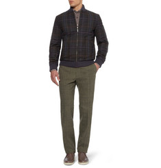 Etro Reversible Wool-Blend Bomber Jacket
