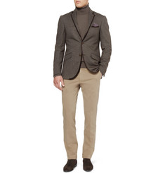 Etro Slim-Fit Unstructured Jersey Blazer
