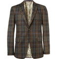 Etro - Slim-Fit Plaid Wool Blazer
