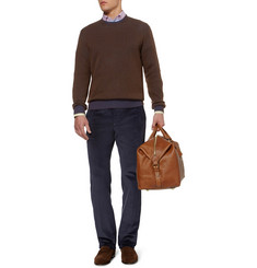 Etro Double-Faced Cashmere and Cotton-Blend Sweater
