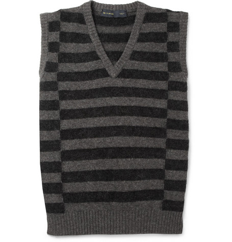 Etro Wool, Mohair and Cashmere-Blend Sleeveless Sweater