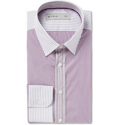 Etro Slim-Fit Striped Cotton Shirt
