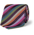Etro Striped Wool and Silk Tie