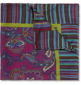 Etro Printed Modal and Cashmere-Blend Pocket Square