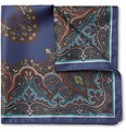Etro - Paisley Silk Pocket Square