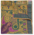 Etro - Patterned Modal and Cashmere-Blend Pocket Square