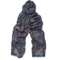 Etro - Printed Modal and Cashmere-Blend Scarf