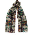 Etro - Digital-Print Wool Scarf