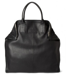 Alexander McQueen De Manta Leather Tote