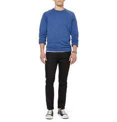 James Perse Loopback Cotton-Blend Sweatshirt