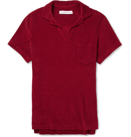 Orlebar Brown Cotton-Terry Polo Shirt