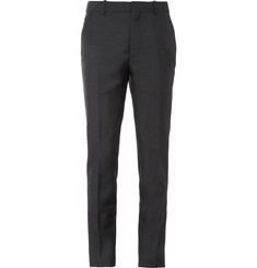 Alexander McQueen Slim-Fit Wool and Mohair-Blend Trousers