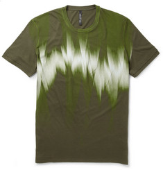 Neil Barrett Printed Cotton-Blend Jersey T-Shirt