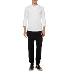 Neil Barrett Slub Cotton-Jersey Long-Sleeved T-shirt