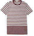 Burberry Brit - Striped Jersey Crew Neck T-Shirt