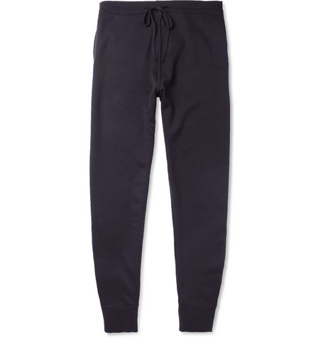 Lanvin Knitted Merino Wool Sweatpants
