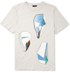 Lanvin Rock-Print Cotton-Jersey T-Shirt