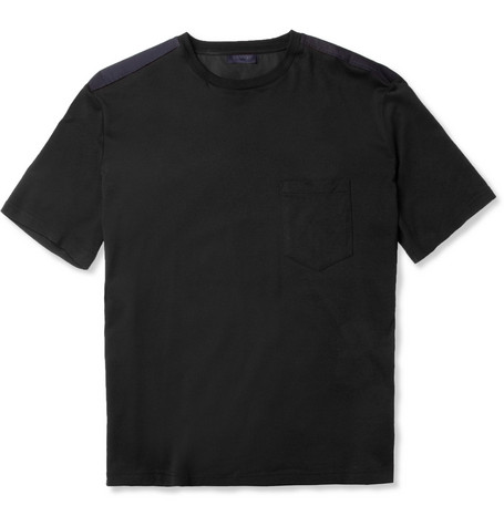Lanvin Shoulder-Panel Cotton T-Shirt