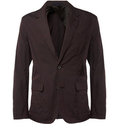 Lanvin Slim-Fit Unstructured Cotton-Blend Blazer