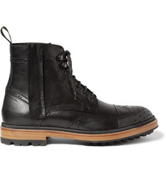 Lanvin Leather Brogue Boots