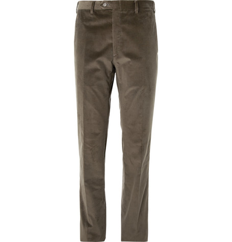 Brioni Regular-Fit Corduroy trousers