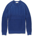 Burberry London - Cable-Knit Cotton Sweater