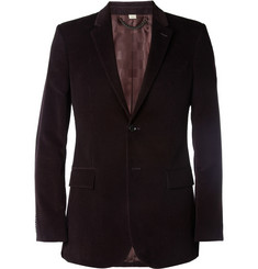 Burberry London Slim-Fit Corduroy Blazer