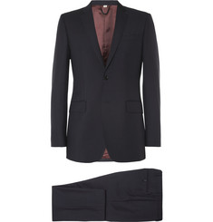 Burberry London Navy Slim-Fit Wool-Blend Suit