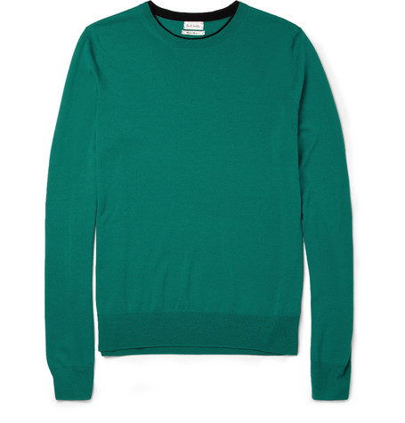 Paul Smith Fine-Knit Merino Wool Sweater