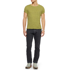 Paul Smith Regular-Fit Brushed-Denim Jeans