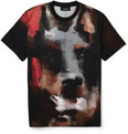 Givenchy Cuban-Fit Doberman-Print Cotton-Jersey T-Shirt