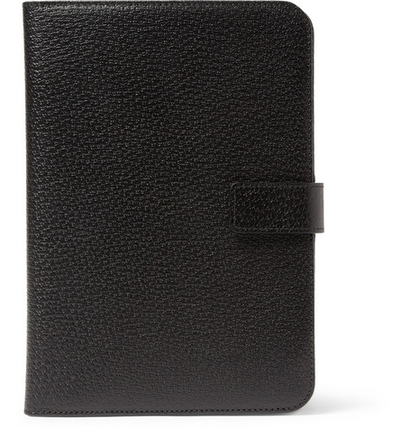 Smythson Textured-Leather iPad Mini Case