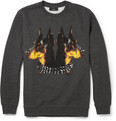 Givenchy Doberman-Print Cotton-Jersey Sweatshirt