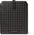 Burberry Shoes & Accessories Studded Cross-Grain Leather iPad Sleeve