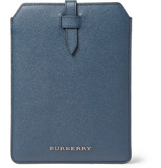 Burberry Shoes & Accessories Cross-Grain Leather iPad Mini Case
