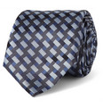 Canali - Patterned Woven-Silk Tie