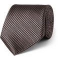 Canali - Houndstooth Check Silk Tie