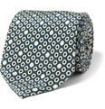 Canali - Printed Silk Tie
