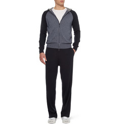 Loro Piana Cashmere and Silk-Blend Tracksuit Sweatpants