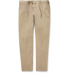 Loro Piana Regular-Fit Brushed-Cotton Trousers