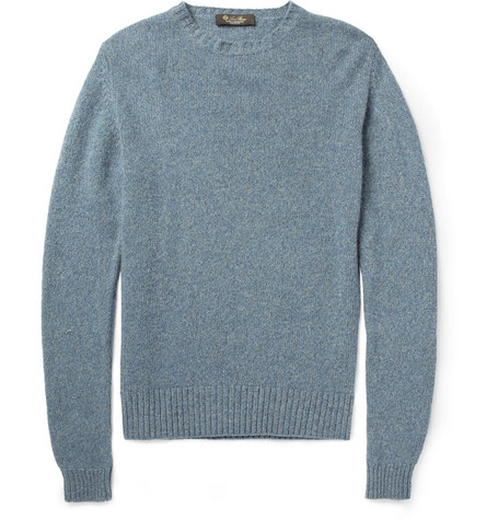 Loro Piana Baby Cashmere Crew Neck Sweater