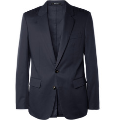 Maison Martin Margiela Navy Cotton Suit Jacket